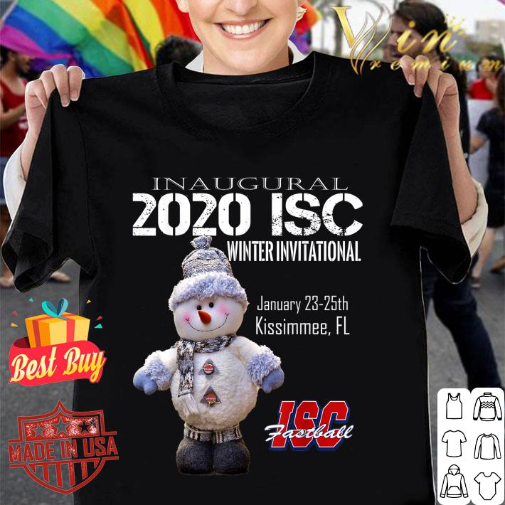 Inaugural 2020 ISC Winter Invitational ISC Fastball shirt