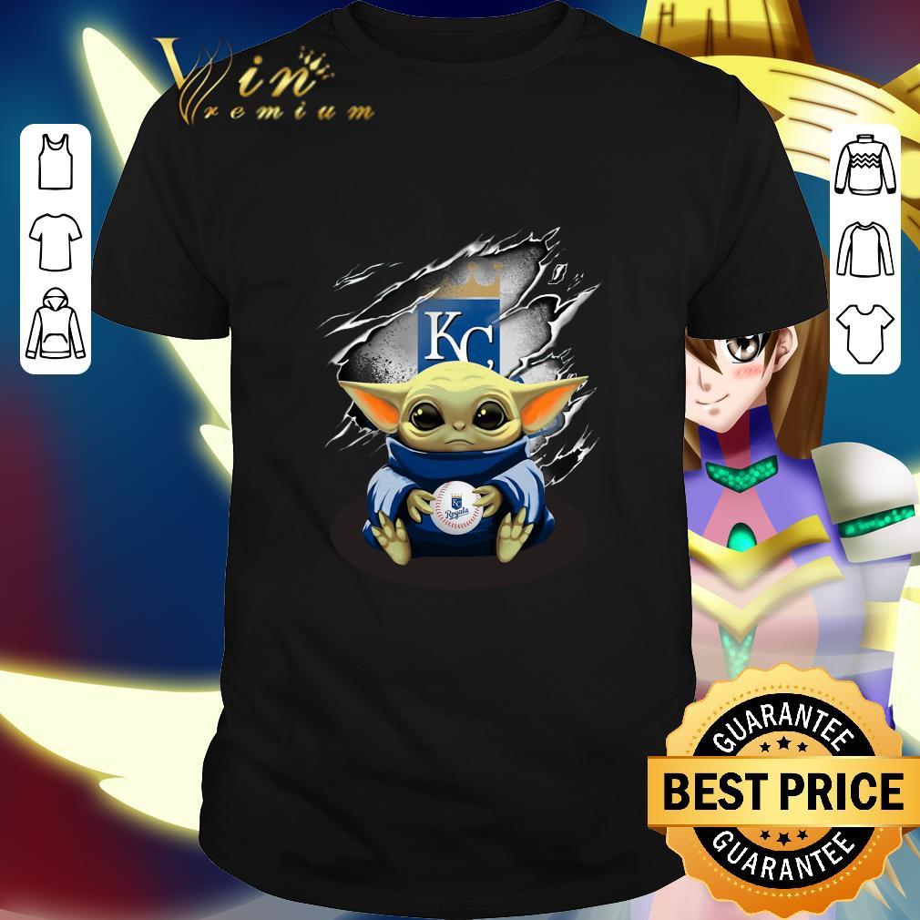 Kansas City Royals Baby Yoda Blood Inside shirt