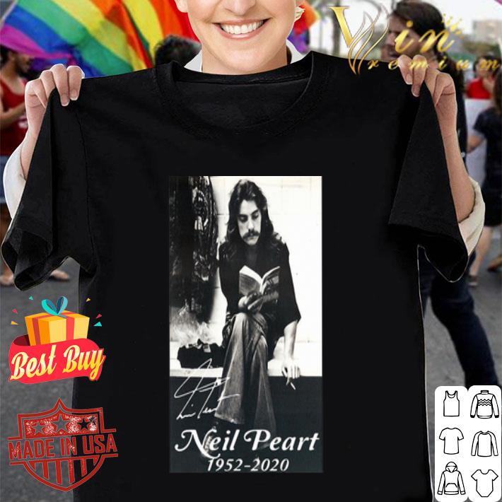 Neil Peart 1952 2020 Signature autographed shirt