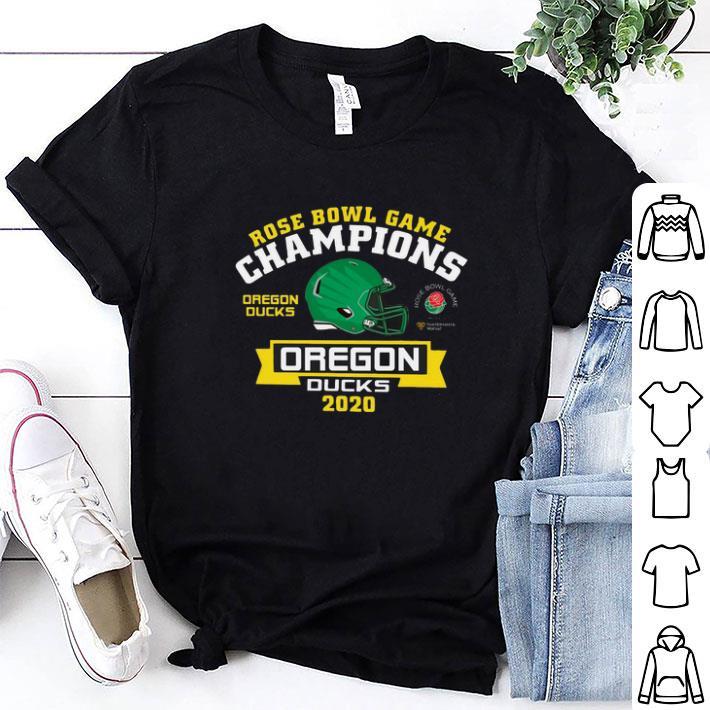 Oregon Ducks 2020 Rose Bowl Game Champions shirt