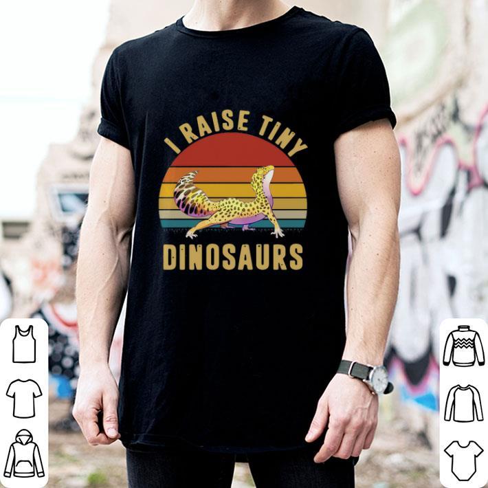 Pogonas i raise tiny dinosaurs vintage shirt