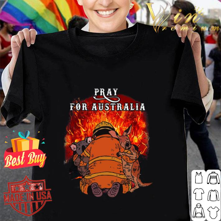 Pray For Australia Wildfire Fire 2020 shirt