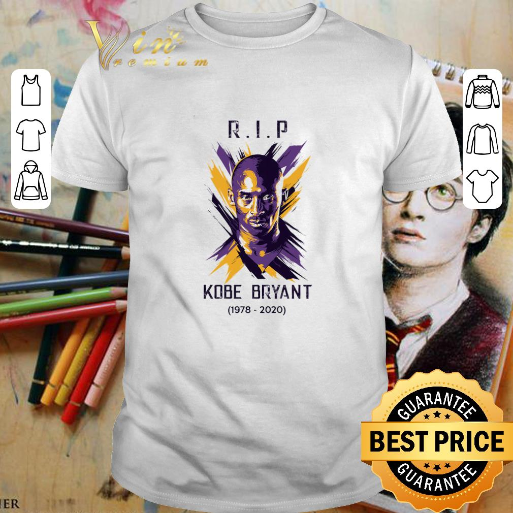RIP Kobe Bryant OMamba 1978 2020 Legends of Los Angeles Lakers shirt