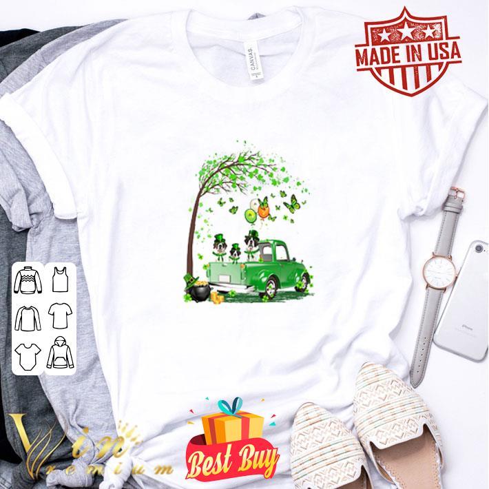 St Bernard dog Truck St Patrick's Day shirt