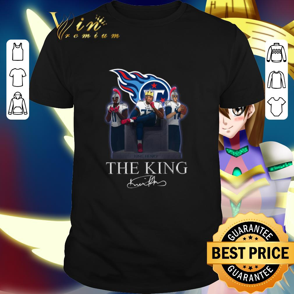 Tennessee Titans King Derrick Henry The King Signature shirt