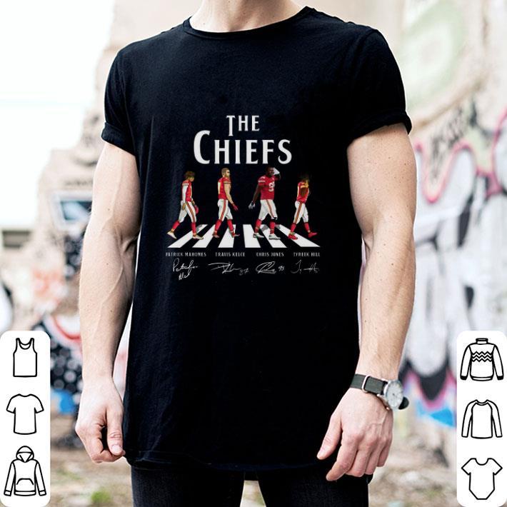 The Chiefs Patrick Mahomes Travis Kelce Chris Jones Tyreek Hill shirt
