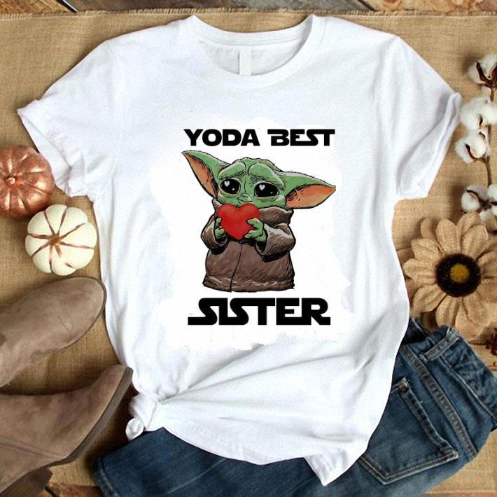 Baby Yoda Best Sister Star Wars shirt