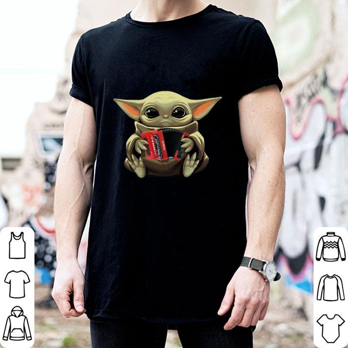 Baby Yoda Hug Accordion Star Wars shirt