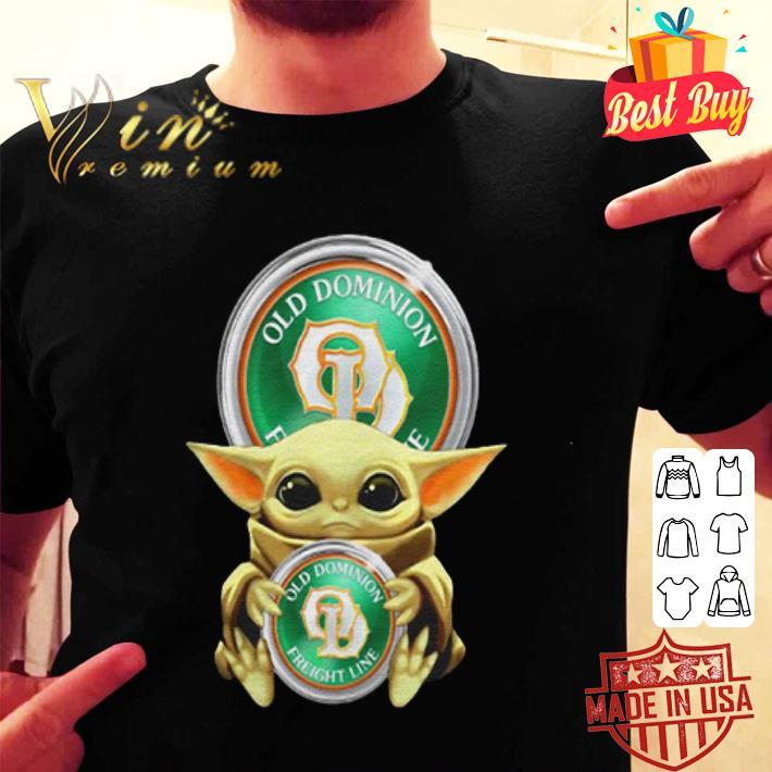 Baby Yoda Hug Old Dominion Freight Line Star Wars shirt