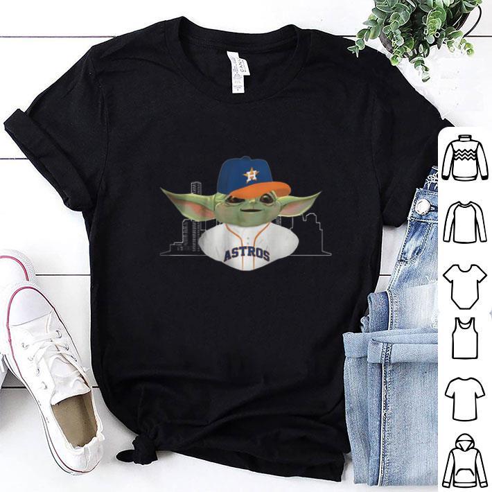 Baby Yoda Player Houston Astros Star Wars shirt