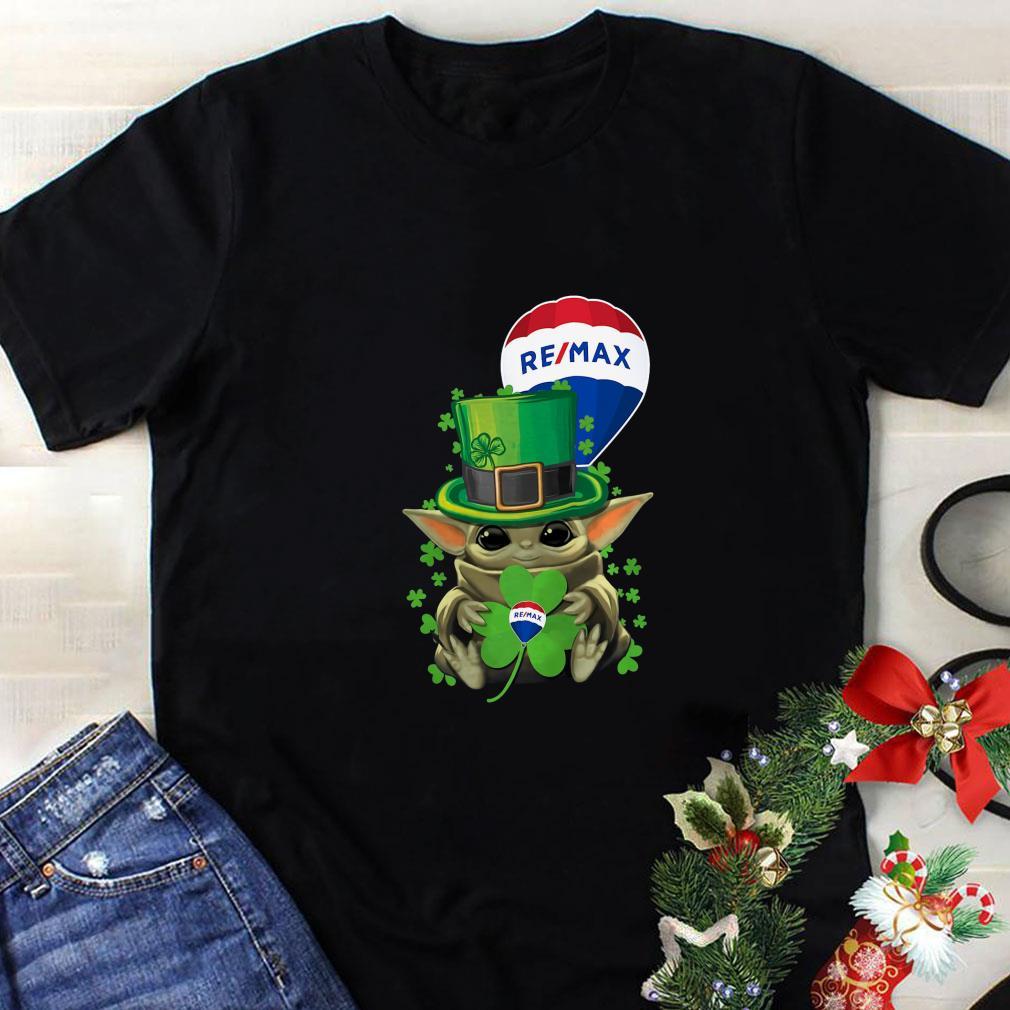 Baby Yoda Remax Shamrock St. Patrick's Day Star Wars shirt