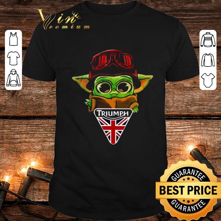 Baby Yoda Triumph Kingdom Logo Star Wars shirt