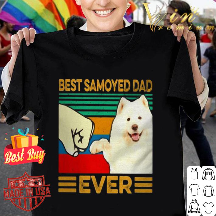 Best Samoyed dad ever vintage shirt