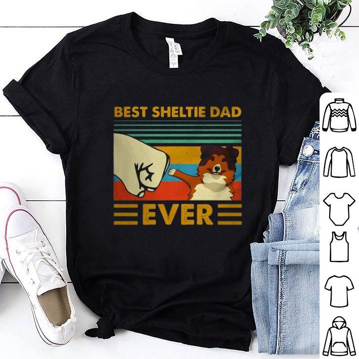 Best Sheltie dad ever vintage shirt