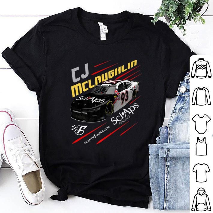 CJ Mclaughlin Frantic Wear Sciaps Racing Nascar shirt