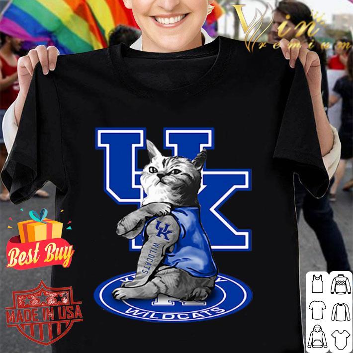 Cat tattoos Kentucky Wildcats shirt