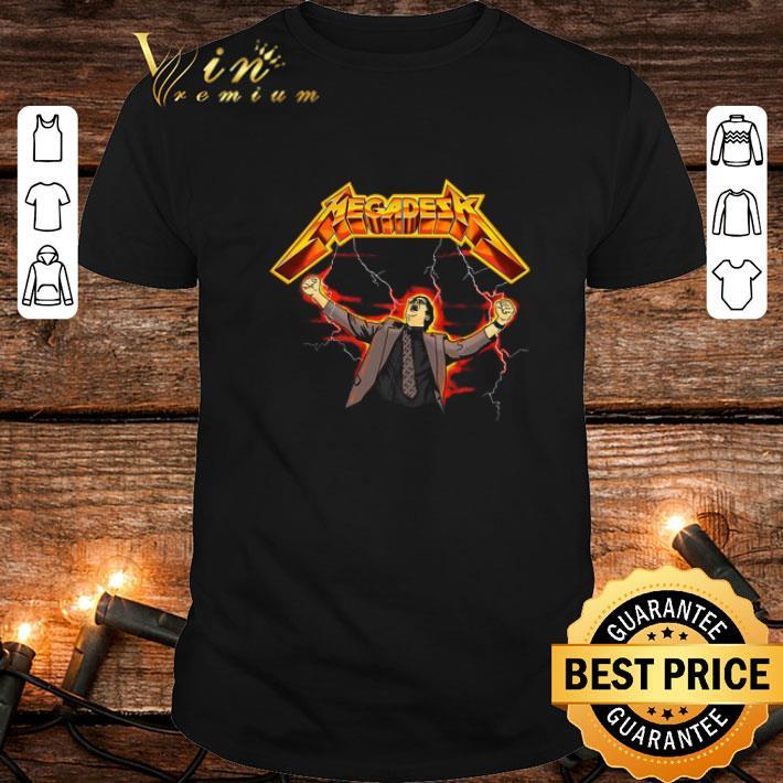 Dwight Schrute Metallica Megadesk shirt