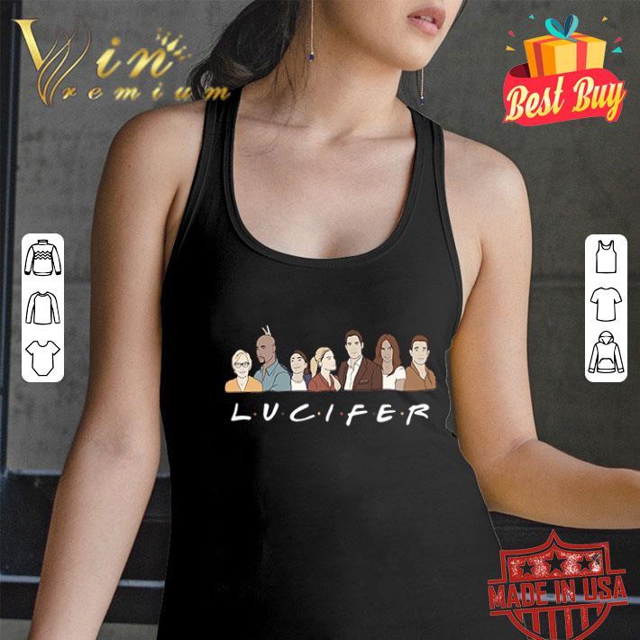 Friends Lucifer characters cartoon shirt