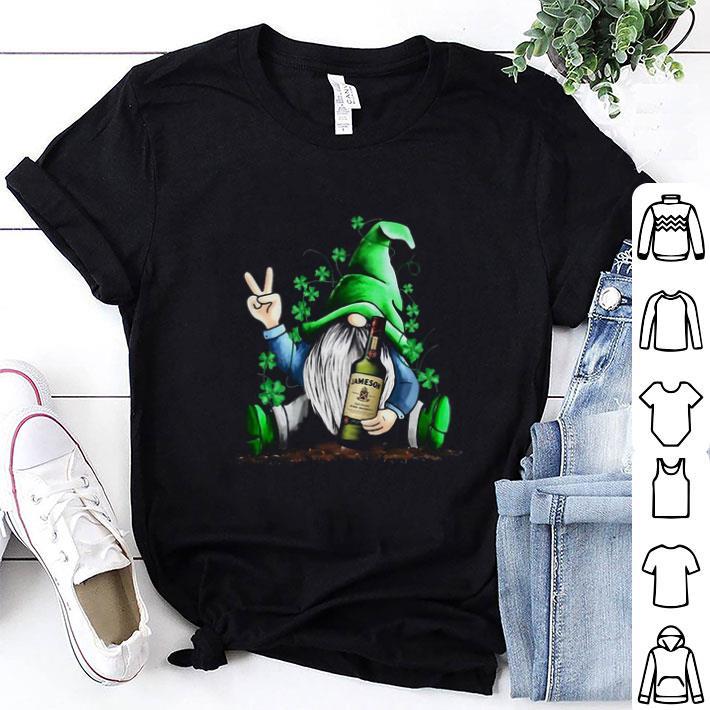 Gnome and Slane Irish Whiskey shamrock St Patrick's Day shirt 7
