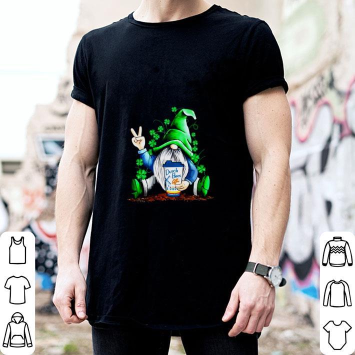Gnome hug Dutch Bros Coffee Irish St. Patrick's day shirt 2