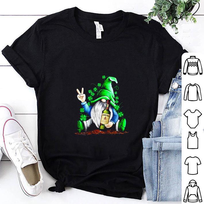 Gnome hug Jameson Irish St. Patrick's day shirt 1