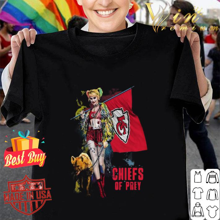Harley Quinn Kansas City Chiefs Of Prey Champion Super Bowl shirt