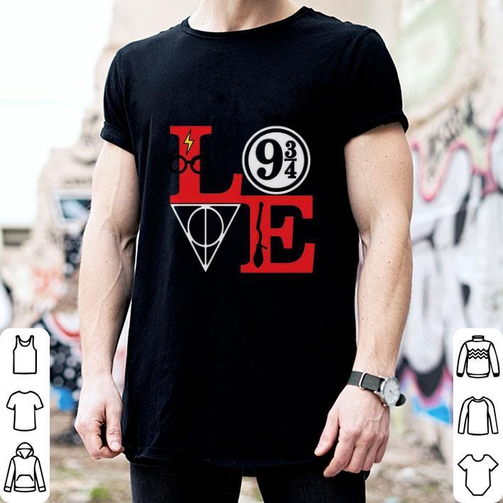 Harry Potter Love Magic Hogwarts School Math shirt