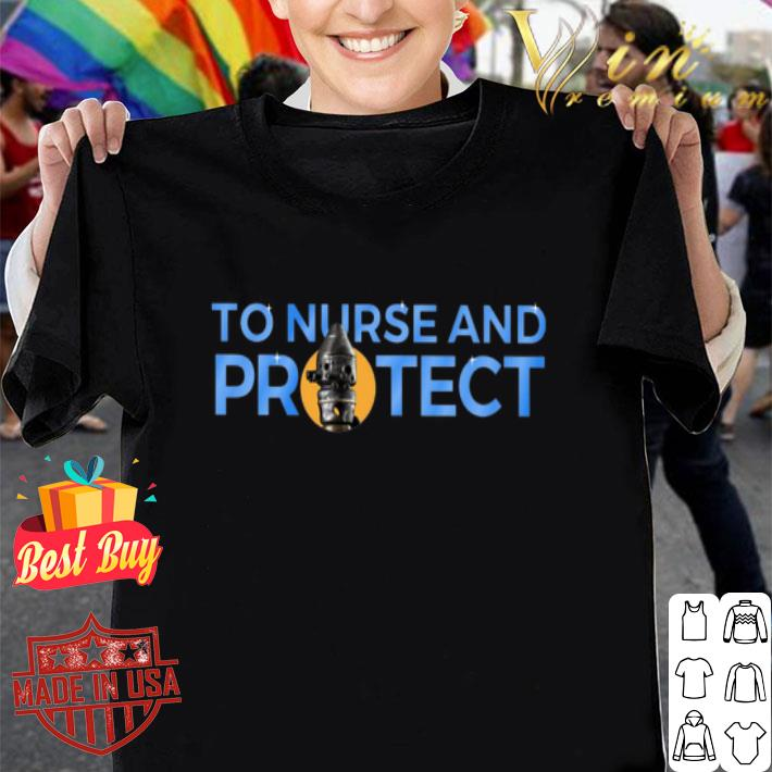 IG-11 to nurse and protect Mandalorian Star Wars shirt