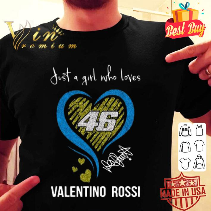 Just a girl love with her Valentino Rossi 46 signature shirt