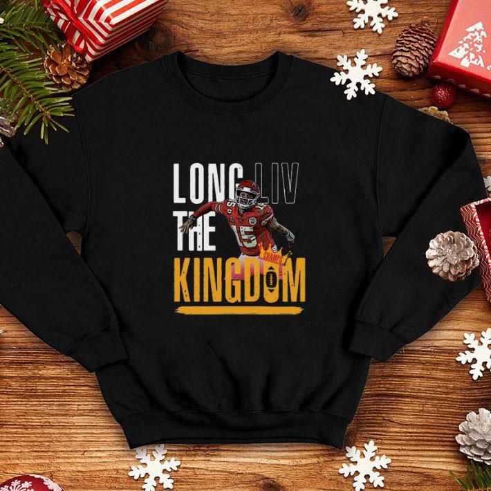 Patrick Mahomes Long LIV The Kingdom shirt