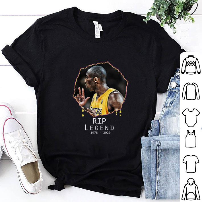 Rest In Peace Kobe Bryant R.I.P Legend 1978 2020 shirt