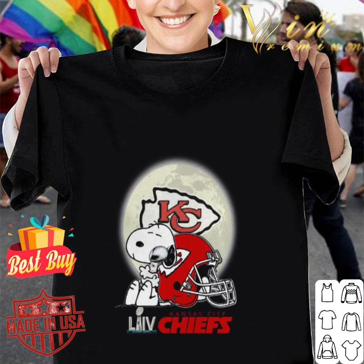 Snoopy Hug Super Bowl LIV Kansas City Chiefs shirt