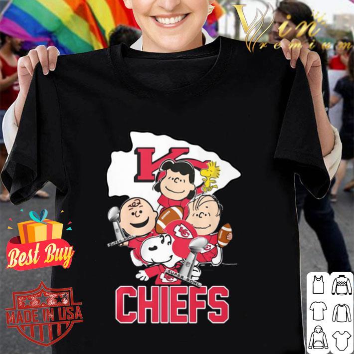 Snoopy Kansas City Chiefs Champion Peanuts Characters shirt