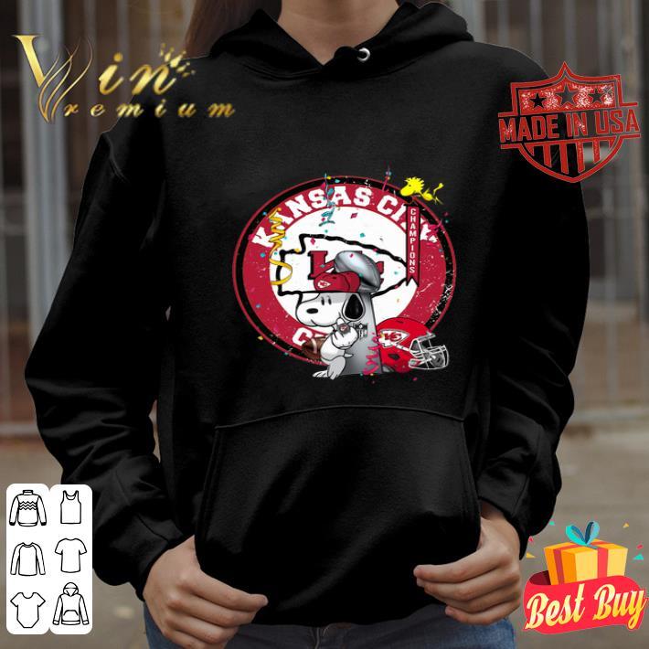 Snoopy Mashup Kansas City Chiefs Super Bowl Champions shirt