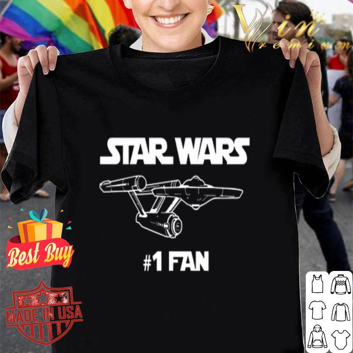 Star Wars #1 Fan mashup Star Trek shirt
