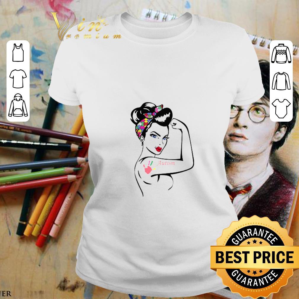 Strong girl Autism Awareness shirt