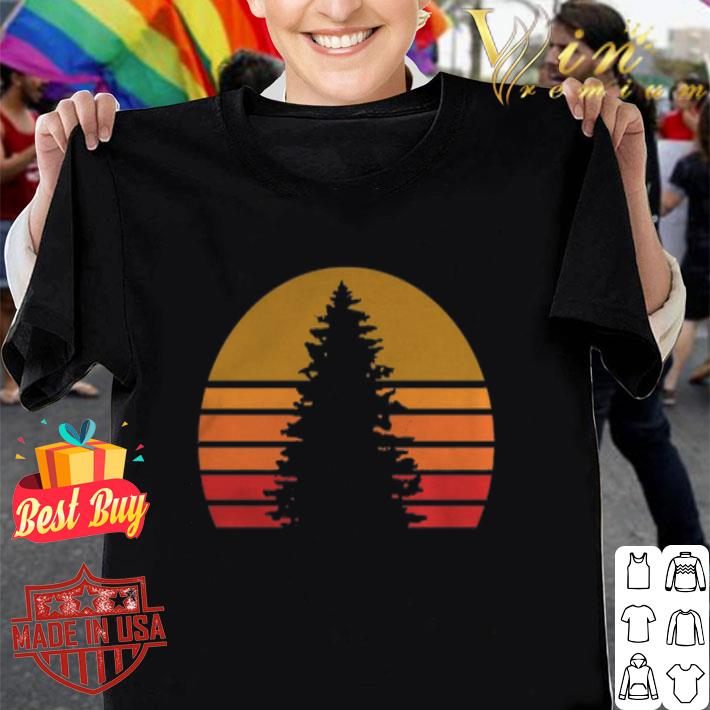 Sunset Rock Tree shirt