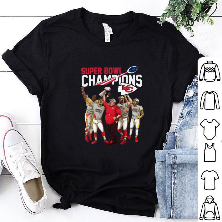 Super Bowl LIV Champions Kansas City Chiefs shirt 1