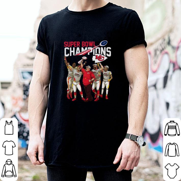 Super Bowl LIV Champions Kansas City Chiefs shirt 2