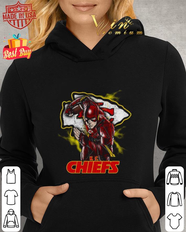 The Flash mashup Kansas City Chiefs Champions shirt 2