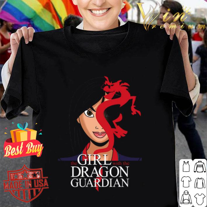 The Girl with the Dragon Guardian Mulan & Mushu tattoo shirt