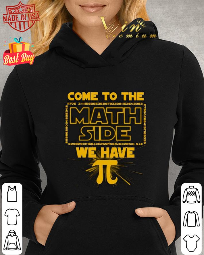 come to the math side we have Pi Star Wars shirt