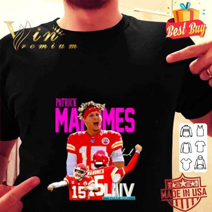 kansas city chiefs patrick mahomes signature shirt