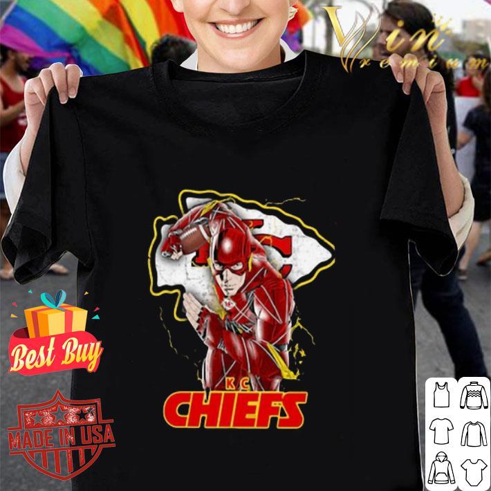 the flash kansas city chiefs 2020 shirt