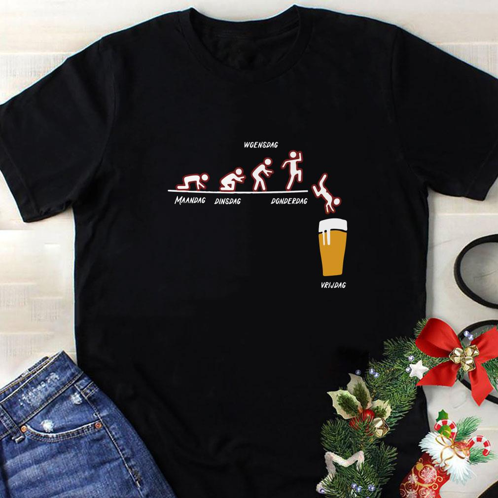 Awesome Maandag Dinsdag Woensdag Donderdag Vrijdag shirt