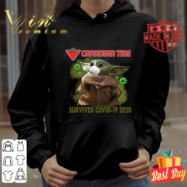 Baby Yoda Canadian Tire Survived Covid-19 2020 shirt