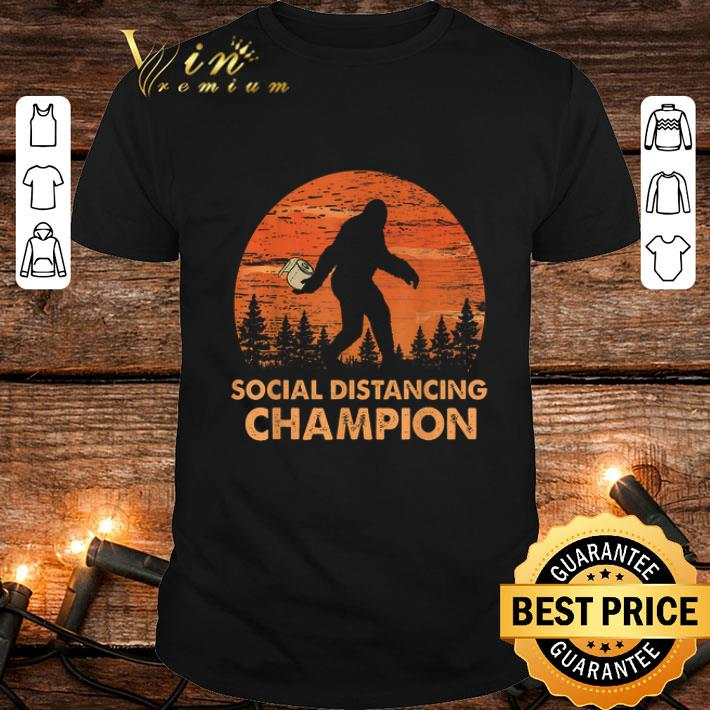 Bigfoot Social Distancing Chanpion shirt