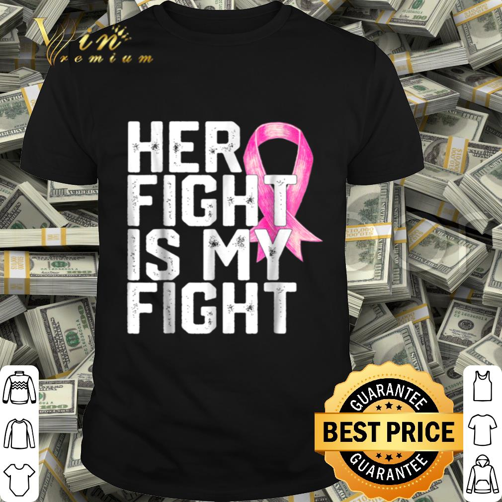 Breast Cancer Awareness Family Husband Support Tee shirt