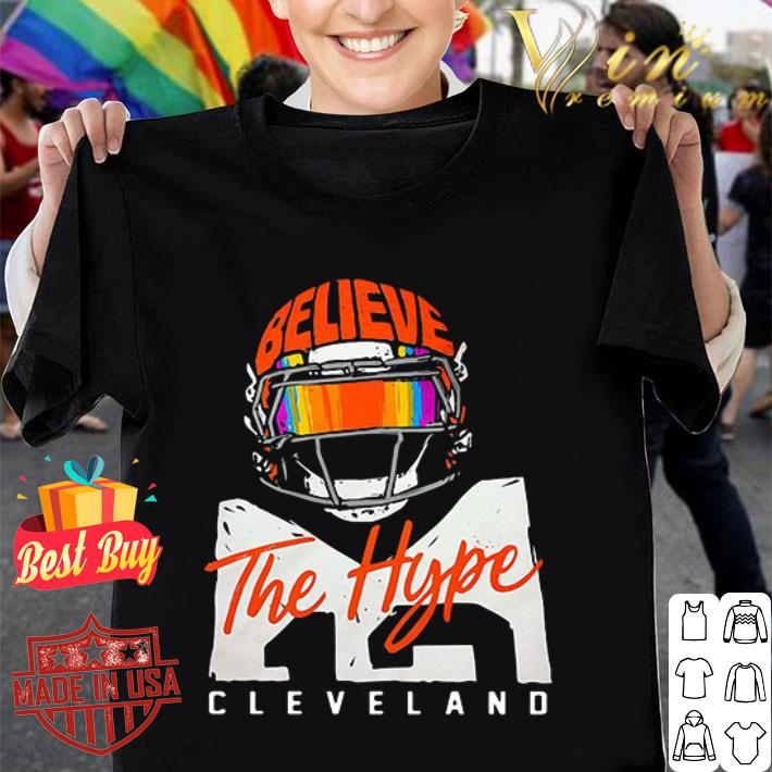 Cleveland Cavaliers Believe The Hype shirt