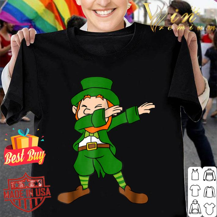 Funny Dabbing Leprechaun St Patricks Day Saint Patty T-shirt